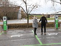 Bayern-Park E-Tankstelle