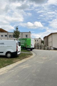 Neubau Wohnkomplex der Raiffeisenbank Nord in Hutthurm