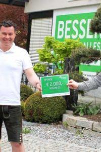 Praml spendet 2000 €